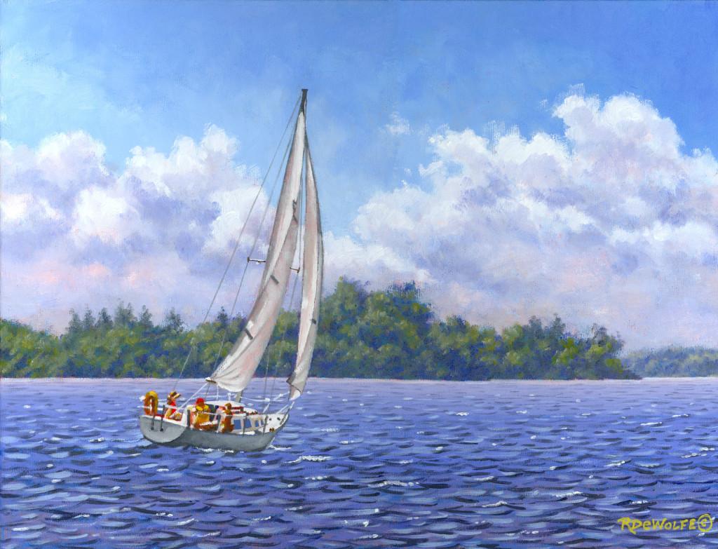 Sailing The Reach